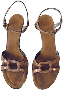 Cole Haan Leather Light Brown Sandals
