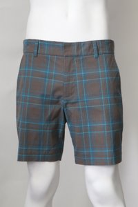 Brown Blue Lawrence Shorts Men's Jewelry/Accessory