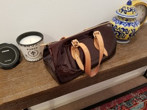 Louis Vuitton Satchel in Rosewood