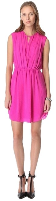 Rebecca Taylor Silk Colorful Drape Dress