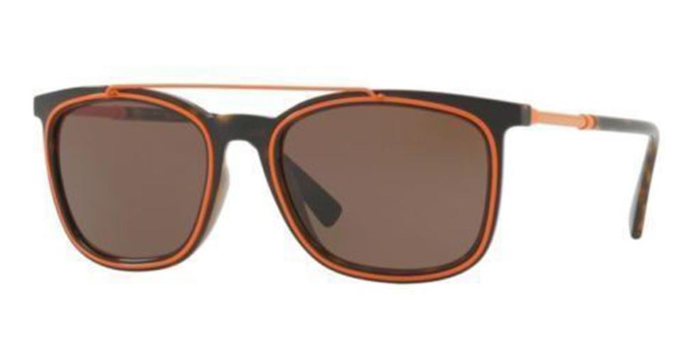 aa8948310e170 Versace Versace Unisex Sunglasses VE4335 108 73 Brown Orange Frame Brown  Lens Image 0 ...