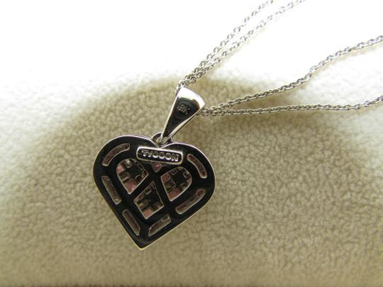 TYCOON TYCOON JEWELRY 18K GOLD PENDANT NECKLACE WITH DIAMONDS & PINK SAPPHIRE Image 8