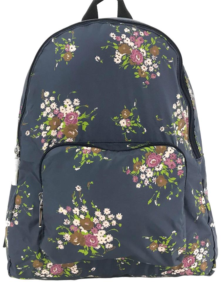 c984e73373b47 Coach F27977 Floral Packable Multicolor Nylon Backpack - Tradesy