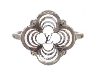 Louis Vuitton Louis Vuitton Silver Plated Alhambra Ring