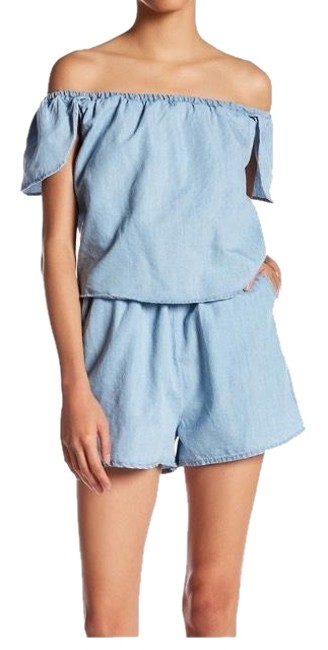 Item - Blue And Chambray Romper/Jumpsuit