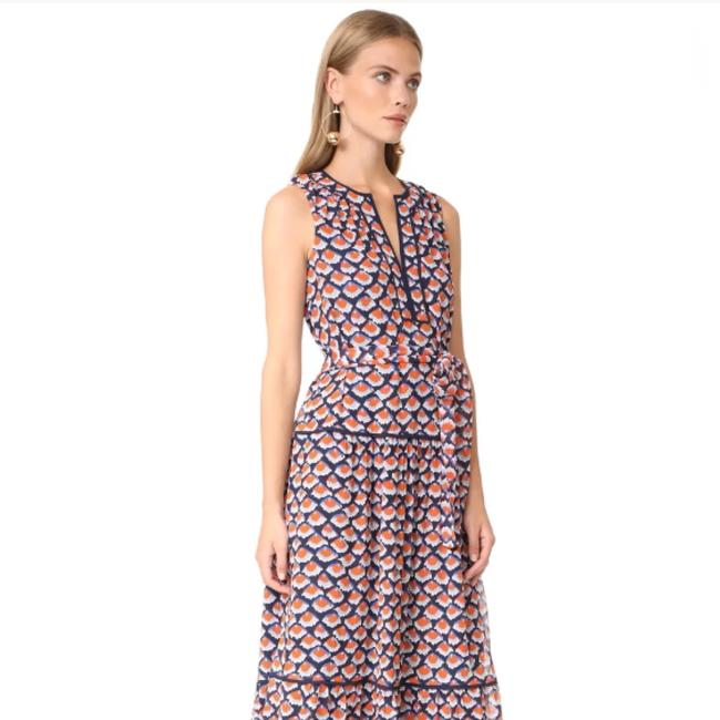 Navy Maxi Dress by Tory Burch Image 2