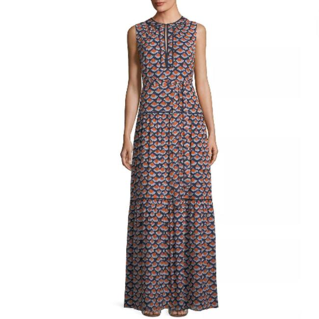 Navy Maxi Dress by Tory Burch Image 3
