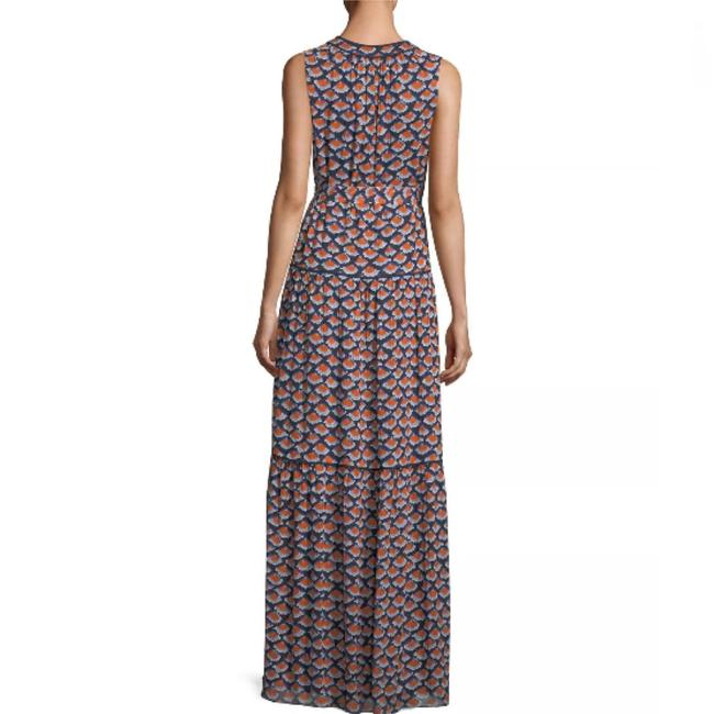 Navy Maxi Dress by Tory Burch Image 4