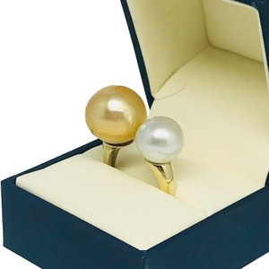 Estate Certified Magnificent Ladies South Sea Pearl 14 Kt Ring 815295
