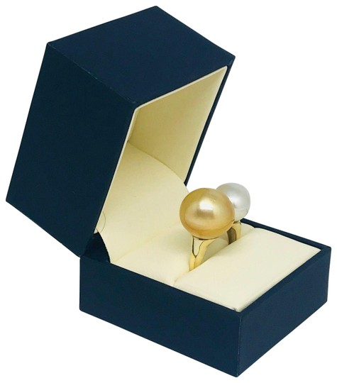 Estate Certified Magnificent Ladies South Sea Pearl 14 Kt Ring 815295 Image 1
