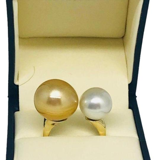 Estate Certified Magnificent Ladies South Sea Pearl 14 Kt Ring 815295 Image 3