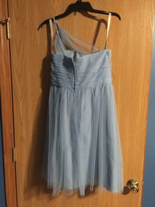 Alfred Angelo Slate Blue Formal Bridesmaid/Mob Dress Size 10 (M)