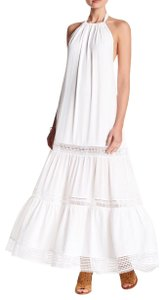white Maxi Dress by Nicole Miller