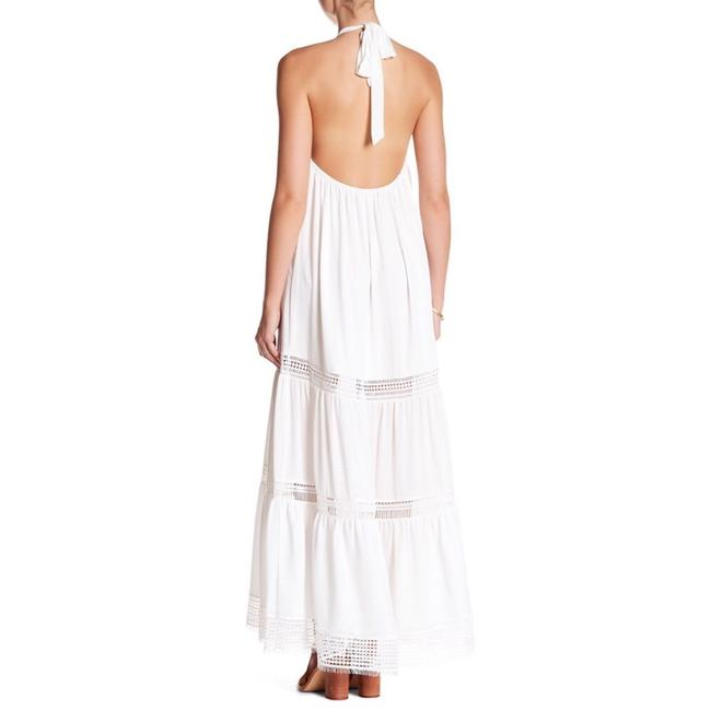 white Maxi Dress by Nicole Miller Image 1