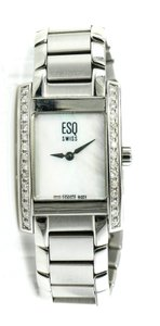 ESQ Hampshire Diamonds Mother of Pearl Swiss Ladies Watch