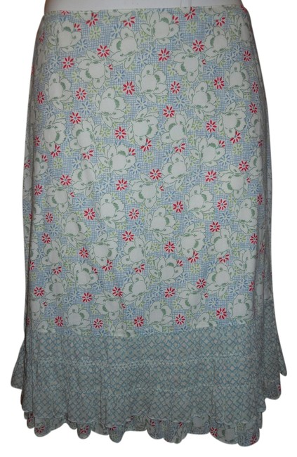 Preload https://item1.tradesy.com/images/american-eagle-outfitters-print-ruffled-cotton-knee-length-skirt-size-2-xs-26-2366830-0-0.jpg?width=400&height=650