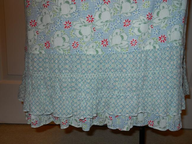 American Eagle Outfitters Ruffled Cotton Skirt print Image 2