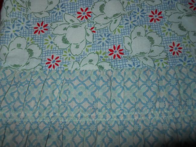 American Eagle Outfitters Ruffled Cotton Skirt print Image 8