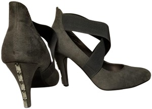 Styluxe Gray Pumps