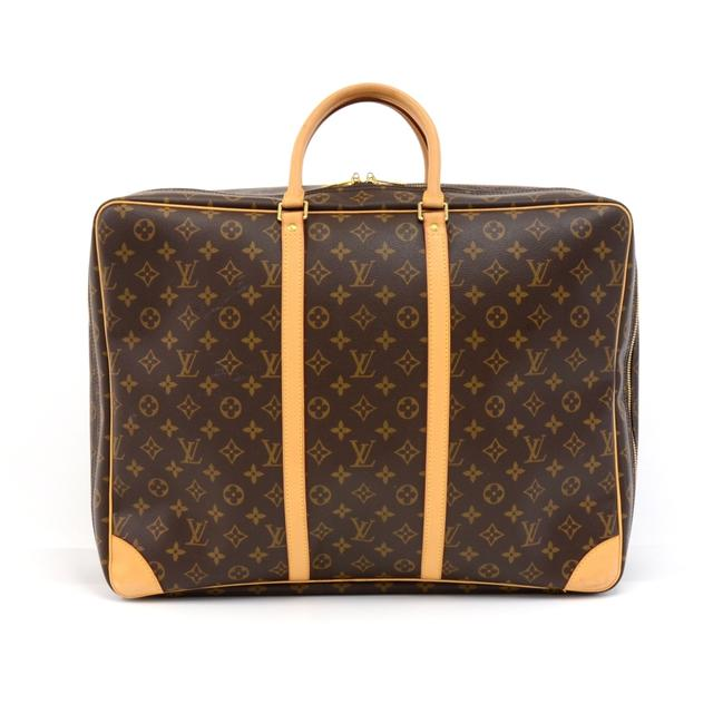 Louis Vuitton Sirius 50 Monogram Brown Canvas Weekend/Travel Bag Louis Vuitton Sirius 50 Monogram Brown Canvas Weekend/Travel Bag Image 1