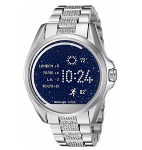 Michael Kors Michael Kors Unisex Silver Bradshaw Digital Smart Watch MKT5000