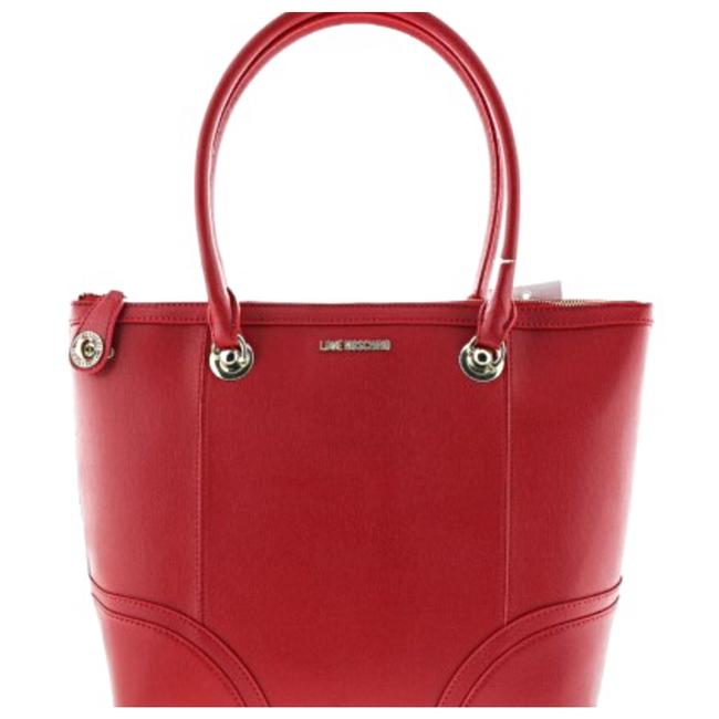 Item - Sachel Love Red Leather Tote