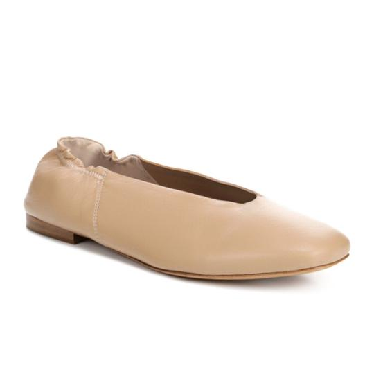 Vince Leather Classic Comfortable NUDE Flats Image 2