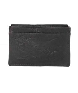 Fossil Fossil Men's Neel Credit Card Case Brown Leather Wallet