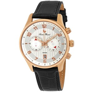 Lucien Piccard Lucien Piccard Navona GMT Chronograph Mens Watch 11187-RG-02S