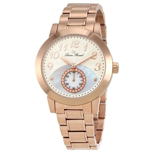Lucien Piccard Lucien Piccard Garda Mother of Pearl Dial Ladies Watch LP-40002-RG-22 Image 0