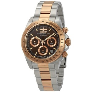 Invicta Invicta Speedway Chronograph Brown Dial Two-tone Mens Watch 17029