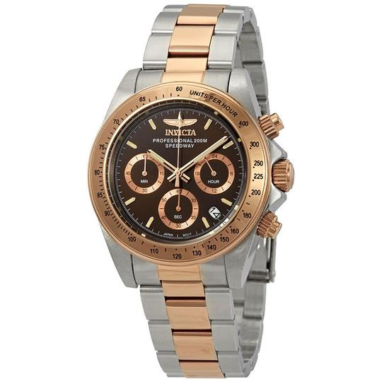 Preload https://img-static.tradesy.com/item/23669919/invicta-speedway-chronograph-brown-dial-two-tone-mens-17029-watch-0-0-540-540.jpg