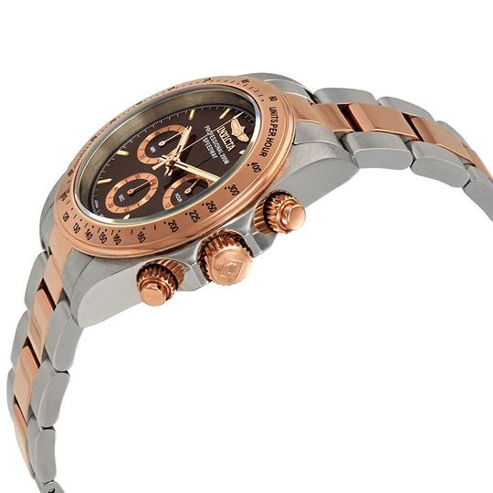 Invicta Invicta Speedway Chronograph Brown Dial Two-tone Mens Watch 17029 Image 1