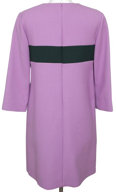 Marni Shift Designer 3/4 Sleeve Wool Designer Dress Image 6