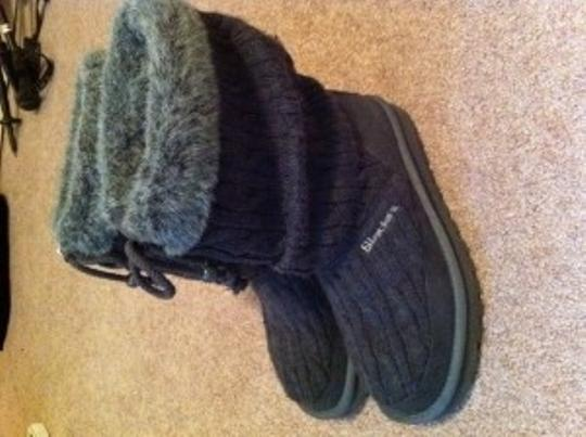 Skechers Charcoal Boots