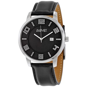 August Steiner August Steiner Black Mens Watch AS8108BKS