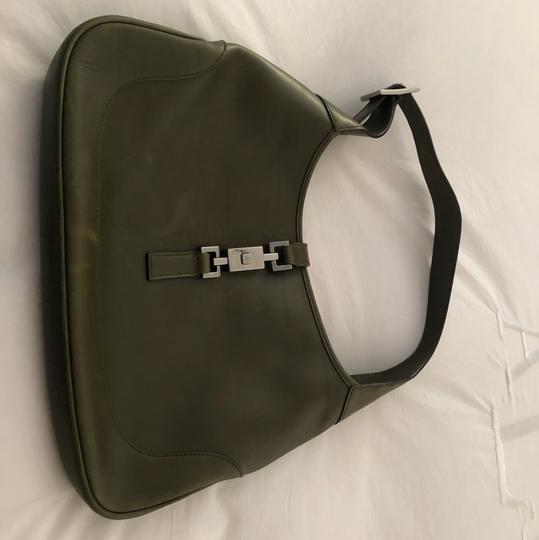 Gucci Satchel in green leather Image 1