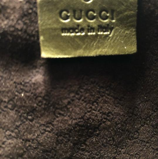 Gucci Satchel in green leather Image 3