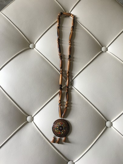 Tory Burch Statement Beaded Necklace Image 3