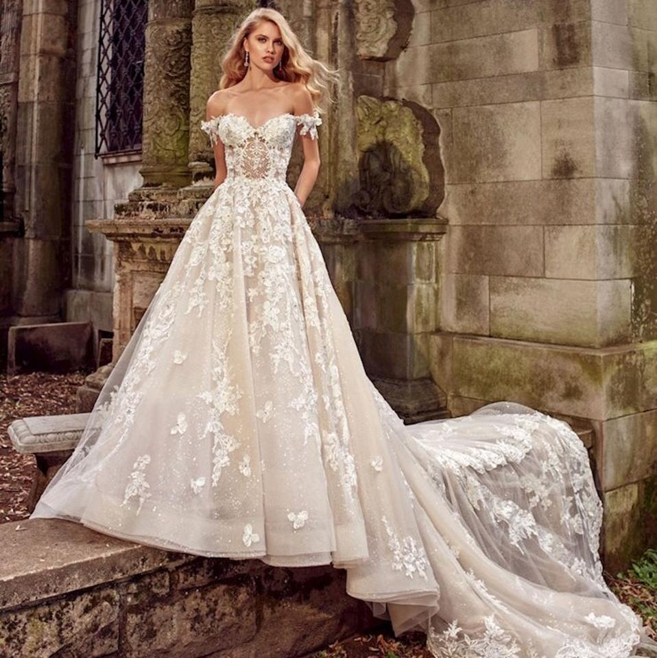 Wedding White Dresses: Eve Of Milady Off White Ballgown 2018 Sexy Wedding Dress