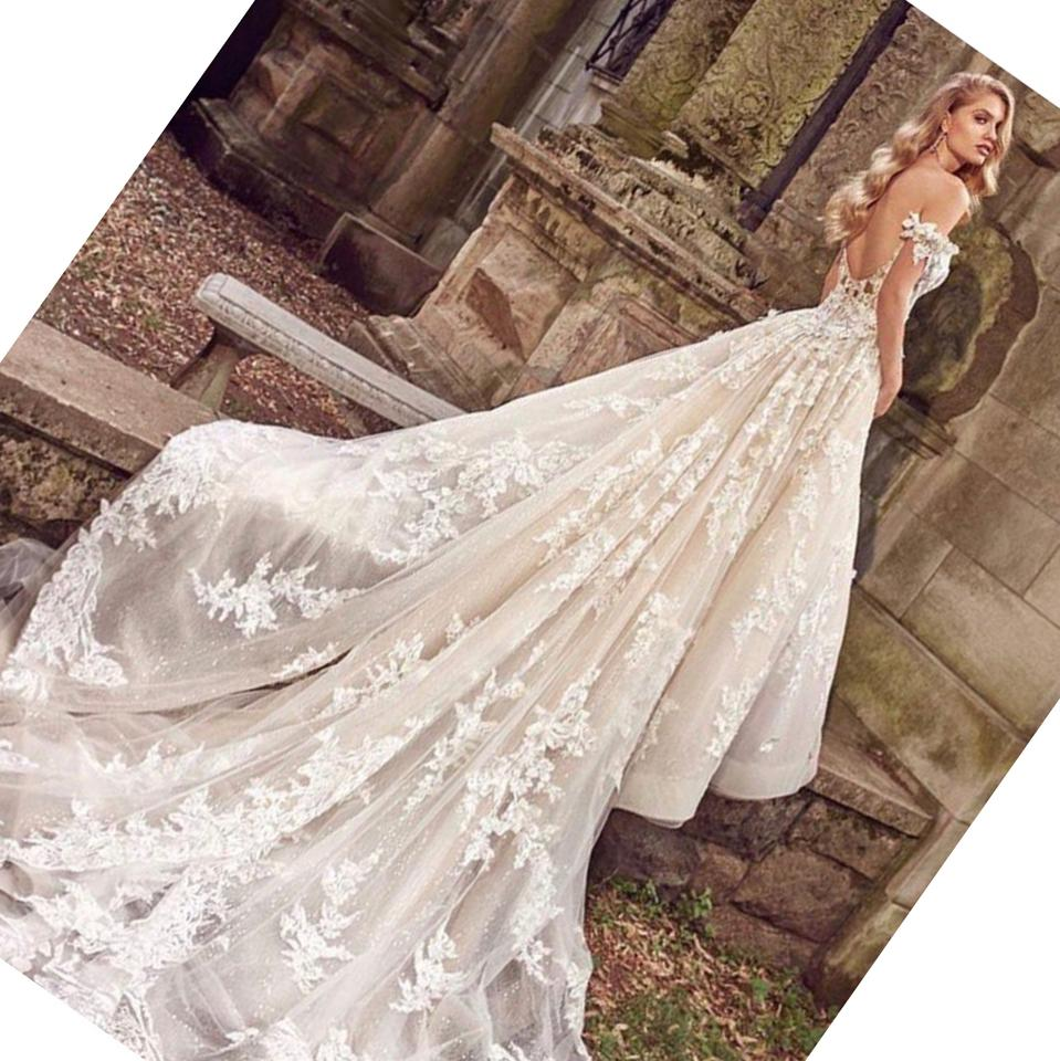 c101be1bad7 Eve of Milady Off White Ballgown 2018 Sexy Wedding Dress Size 6 (S) Image.  123456