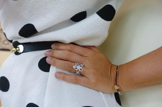 Van Cleef & Arpels Rare High Quality Handmade Floral Diamond Ring Size 6 (32984)