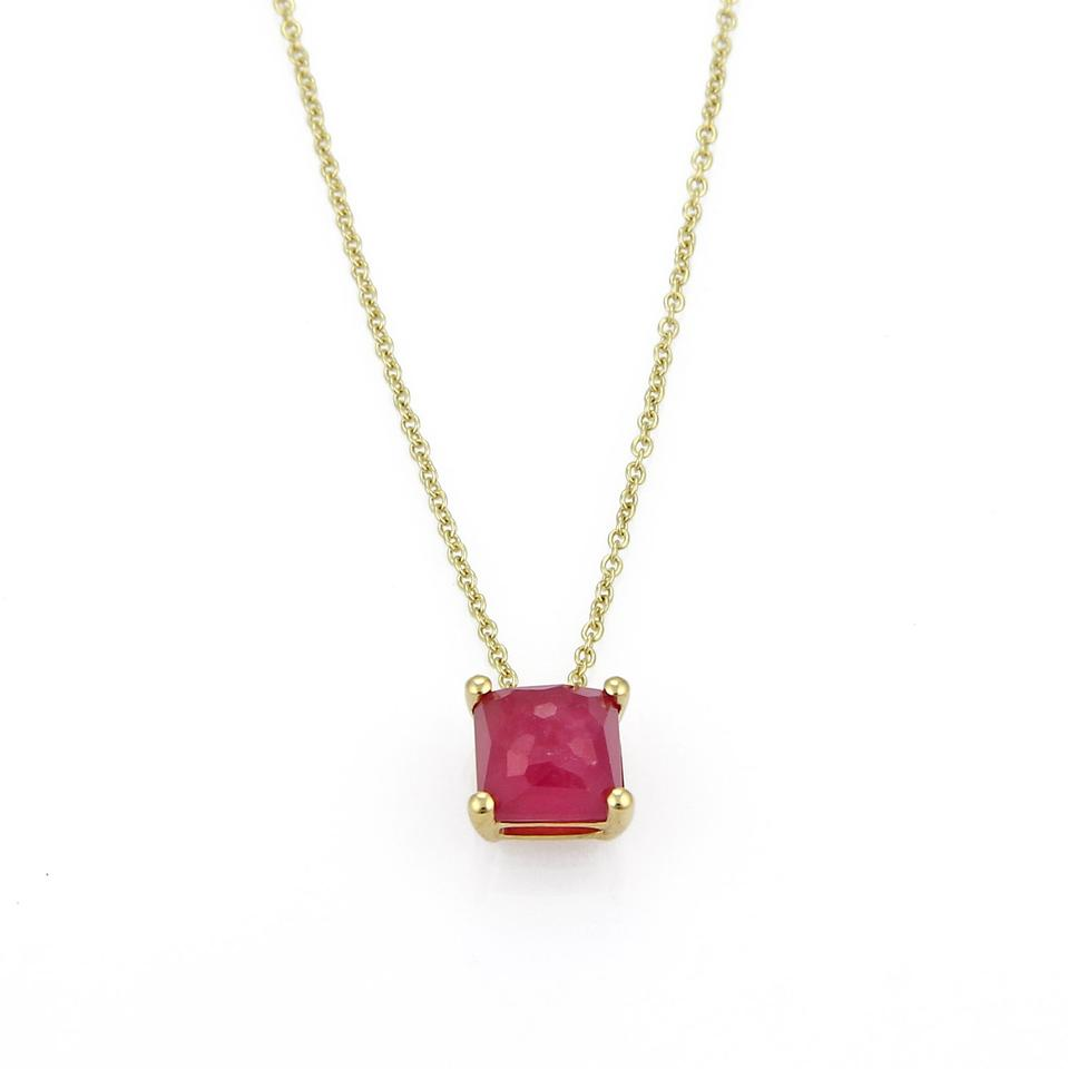 Ippolita 21348 rock candy ruby mini square 18k gold pendant ippolita rock candy ruby mini square 18k gold pendant aloadofball Gallery