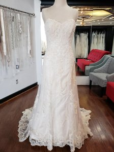 Maggie Sottero Gold Emma 13533 Formal Wedding Dress Size OS