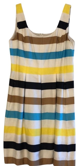 Preload https://img-static.tradesy.com/item/23670807/nine-west-multicolor-mid-length-cocktail-dress-size-14-l-0-1-650-650.jpg