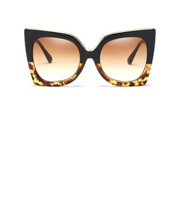 BIN Leopard Square Sun Glasses