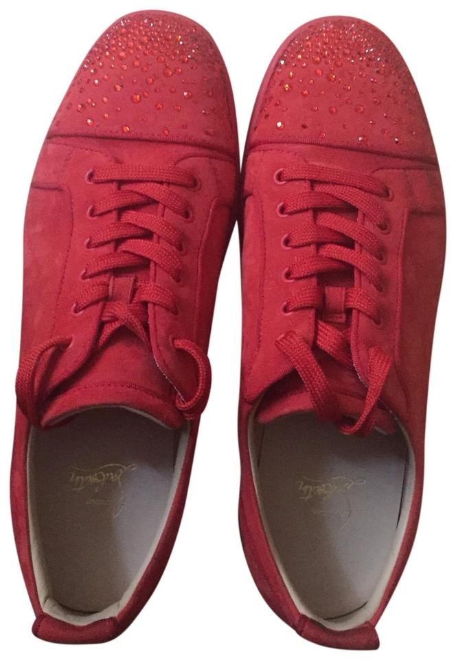 35b9a3f688cd Christian Louboutin Red Bottoms Sneakers Size US 11 Regular (M