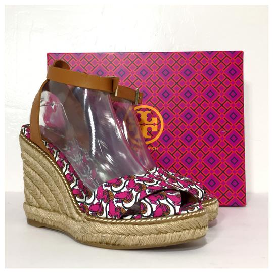 Tory Burch Pink Wedges Image 1