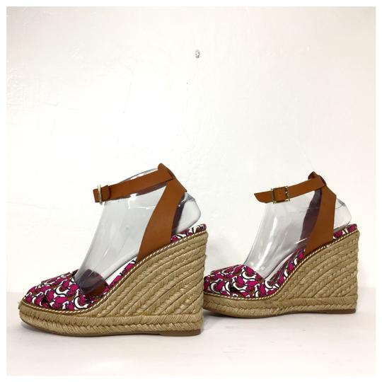 Tory Burch Pink Wedges Image 3