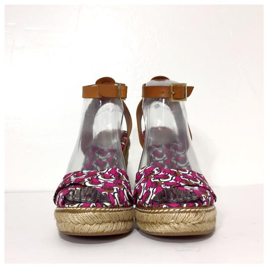 Tory Burch Pink Wedges Image 4